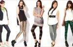 Женские лосины: с чем носить